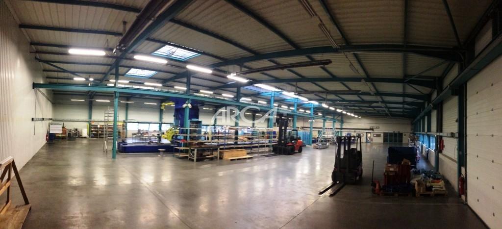 Vente atelier b timent industriel bureau entrep t de 2600m vourles zone - Entrepot a vendre lyon ...