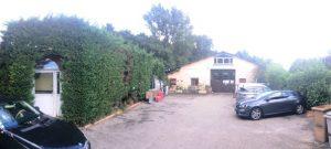 Maison zone industrielle