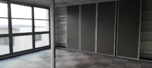 Surface bureaux 163 m²